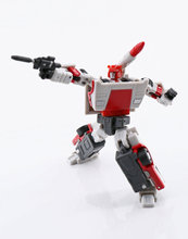 Lensple MS-Toys Transformation MS-B08 Red Alert The Flame patrol Mini Action Figure Robot Toys