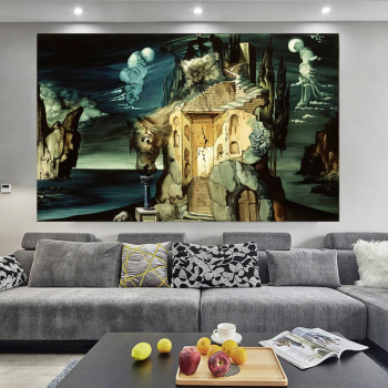 Great Paintings by Salvador Dalí Printed on Canvas 2