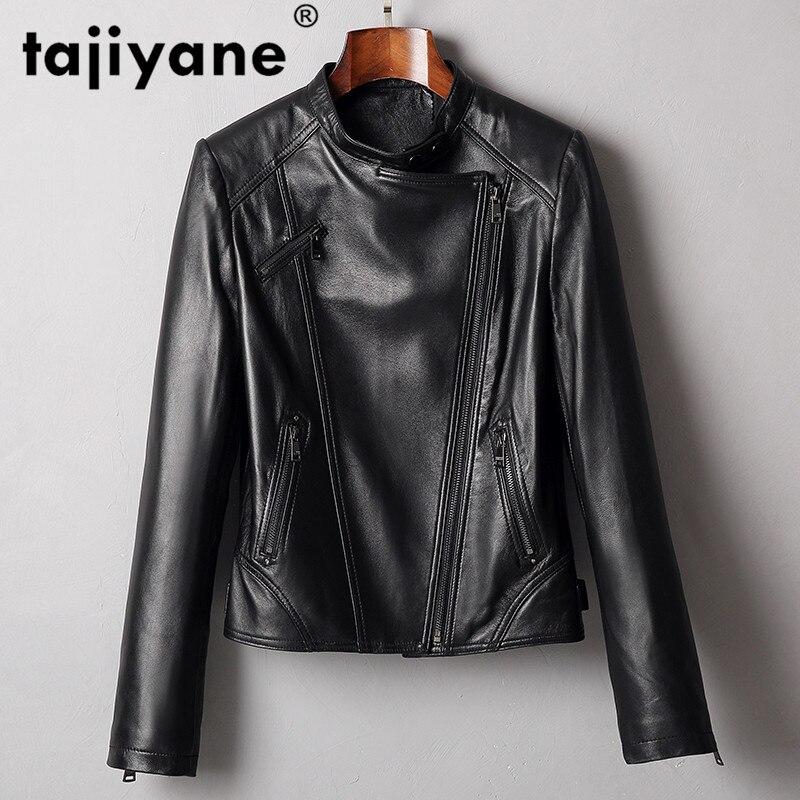 Real Genuine Leather Jacket Women Clothes 2020 Korean Women's Fur Coat Vintage Spring Autumn Sheepskin Coat Plus Size ZT2332