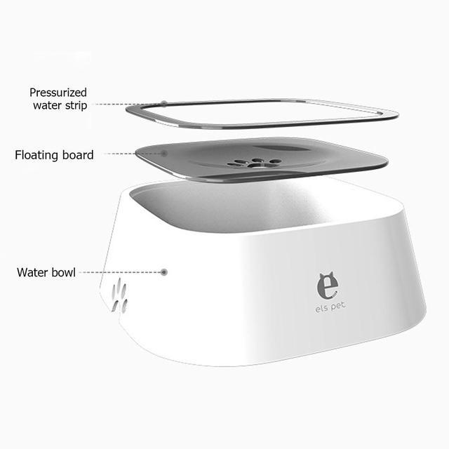Smart Design Cat & Dog Drinking Water Bowl 1.5L Floating No- Spill Drinking Dispenser  2