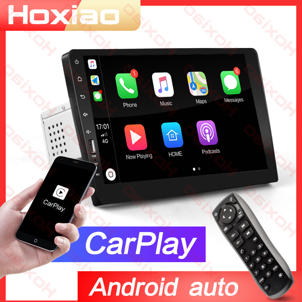 1 DIN Embedded MP3 Carplay Android Auto 2 Din Car Radio Player With Touch Screen Mirror Link MP5  Bluetooth 9