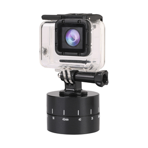 Image 5 - 60min Time Lapse 360 degree Rotating Automatic Timer Tripod Head Photography Delay Tilt Head for GoPro7 6 5 DJI OSMO Action Sj9