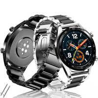 20mm/22mm zegarek huawei gt 2 pasek do samsung galaxy zegarek 46mm 42mm biegów S3 Frontier aktywny 2 amazfit bip amazfit gts zespół