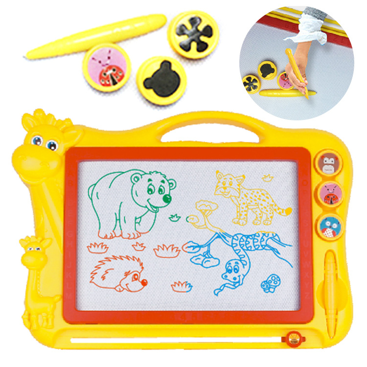 Children Graffiti Magnetic Drawing Board Large Size Blackboard Drawing Board Magnetic Doodle Board Learning Toy