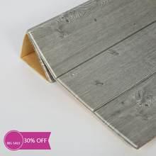 3d grão de madeira impermeável adesivo de parede painéis autoadesivos decalque 70*70cm