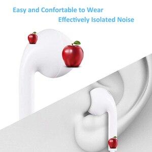 Image 5 - Voor Apple Iphone 7 In Ear Stereo Hoofdtelefoon Met Microfoon Wired Bluetooth Oortelefoon Voor Iphone 8 7 Plus X Xr xs Max 11 Headset