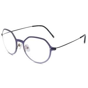 Image 3 - Reven Jate Männer und Frauen Unisex Mode Optische Brille Hohe Qualität Brille Optische Rahmen Brillen 1849