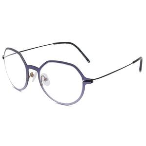 Image 3 - Reven Jate erkekler ve kadınlar Unisex moda optik gözlük gözlük yüksek kaliteli gözlük optik çerçeve gözlük 1849