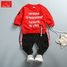 autumn spring baby kids clothing set kids sweatshirt + pants children sports clothes set sportswear baby boys girls tracksuit