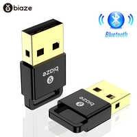 Biaze adaptateur Bluetooth USB Dongle ordinateur portable PC souris sans fil Bluetooth haut-parleur 4.0 récepteur de musique USB Bluetooth adaptateur v4.0 CSR