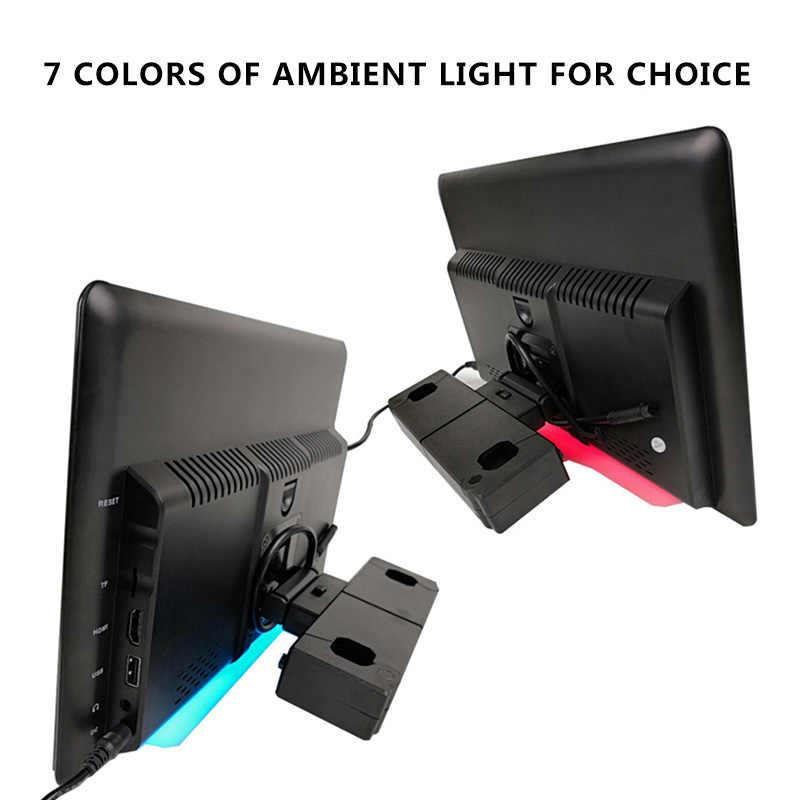 12.5 インチのアンドロイド 9.0 2 ギガバイト + 16 ギガバイト車のヘッドレストモニター同一画面 4 18K 1080 1080P MP5 WIFI /Bluetooth/USB/SD/HDMI/FM/ミラーリンク/Miracast