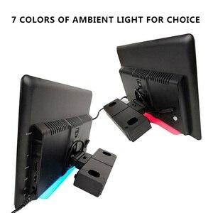 Image 5 - 12.5 بوصة أندرويد 9.0 2GB + 16GB سيارة راصد مسند الرأس نفس الشاشة 4K 1080P MP5 واي فاي/بلوتوث/USB/SD/HDMI/FM/مرآة لينك/Miracast