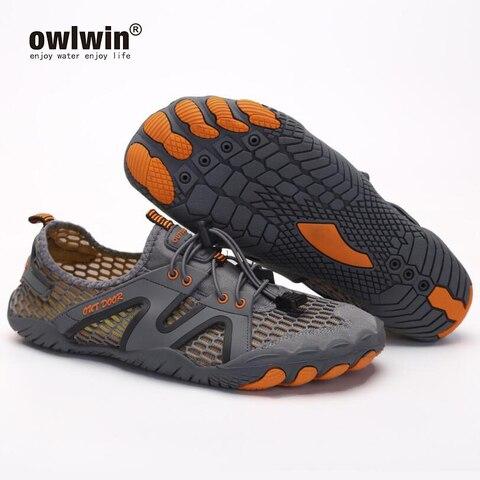 unissex tenis de agua dos homens descalco sandalias praia ao ar livre upstream aqua sapatos