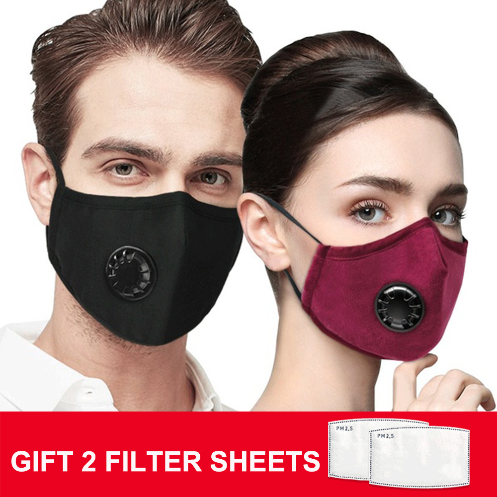 Fpp2mask Dust Face P2 Mask With Filter PM2.5 Air Pollution Dustproof Reusable Mask With Valve Masque Fpp2 Mascarilla Facemask