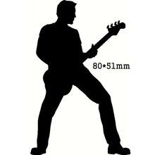 Dies Cuts Stencil Guitar Card-Making-Template Craft Scrapbooking Metal Cutting Paper