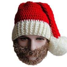 2019 new trend hand-woven Christmas hat Santa Claus Christmas hat Christmas gift New Year hat Christmas decoration(China)