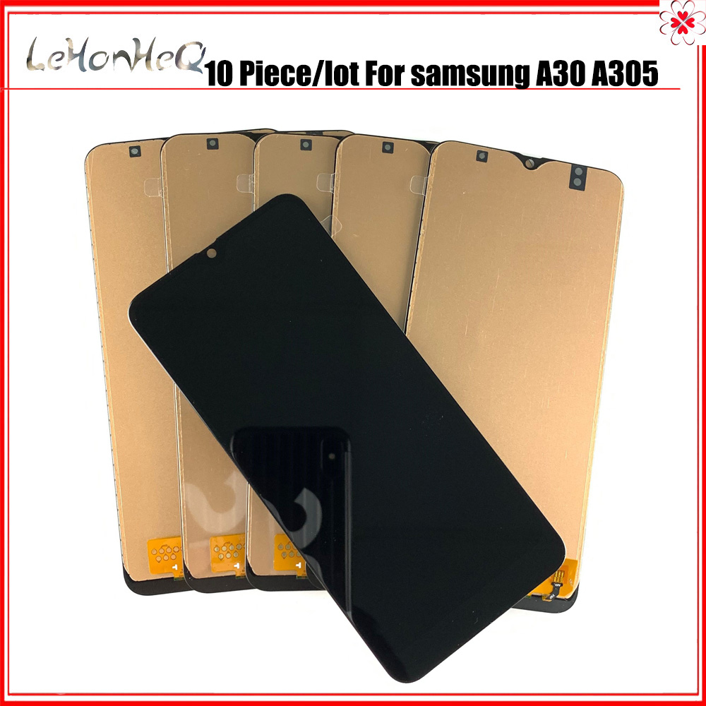 10 piece/lot LCD Replacement For <font><b>Samsung</b></font> Galaxy <font><b>A30</b></font> 2019 A305 A305/DS A305F A305FD A305A <font><b>Display</b></font> Touch Screen Digitizer Assembly image