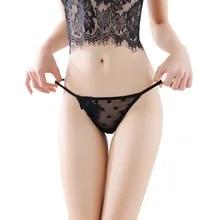 Bandage Panties Crotch Ladies Thongs Briefs Shorts Intimates Seamless Underwear Flower