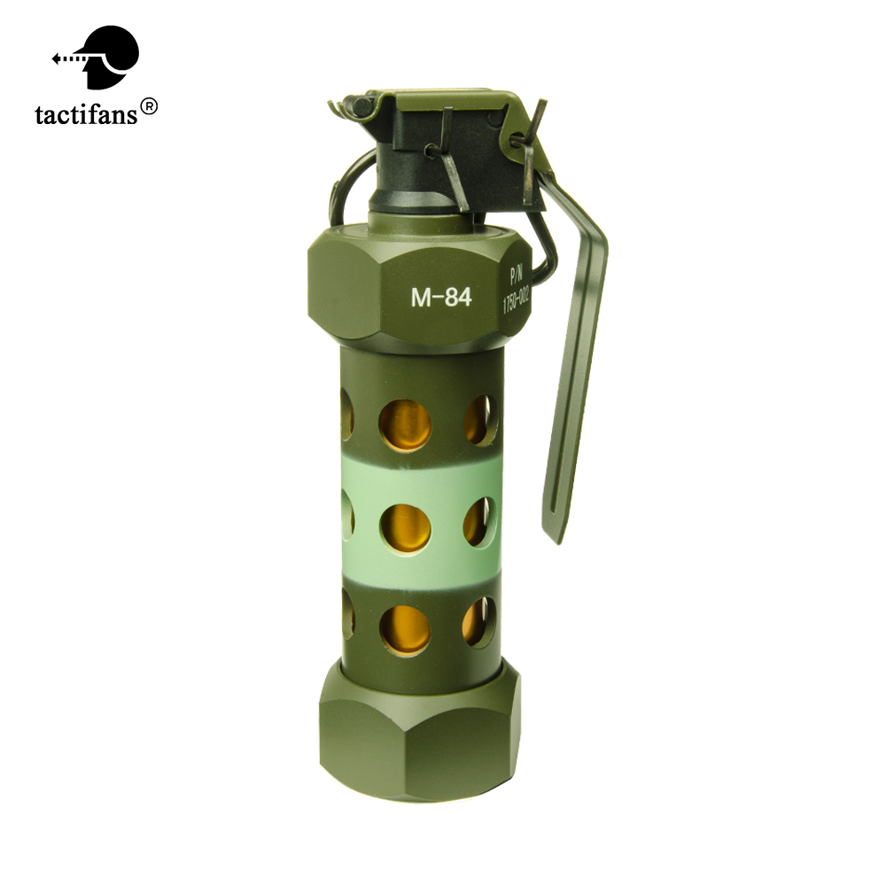 Tactical M84 Metal Grenade Dummy Model Props Toy Paintball Accessories War Game Cosplay CS CF CQB EmersonGear