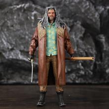 """워킹 데드 7 """"Ezekiel 액션 피규어 동상 Mcfarlane AMC TV 컬러 탑 시리즈 Collectible Original Doll Movie Toys"""