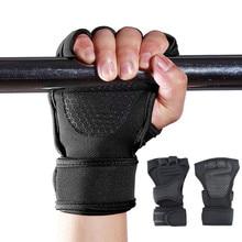 Перчатки для фитнеса перчатки фитнес спортивные перчатки с поддержкой запястья полная ладонь защита для эспандер перекрестный кроссфит Бодибилдинг гантели дышащие перчатки для занятий тяжелой атлетикой