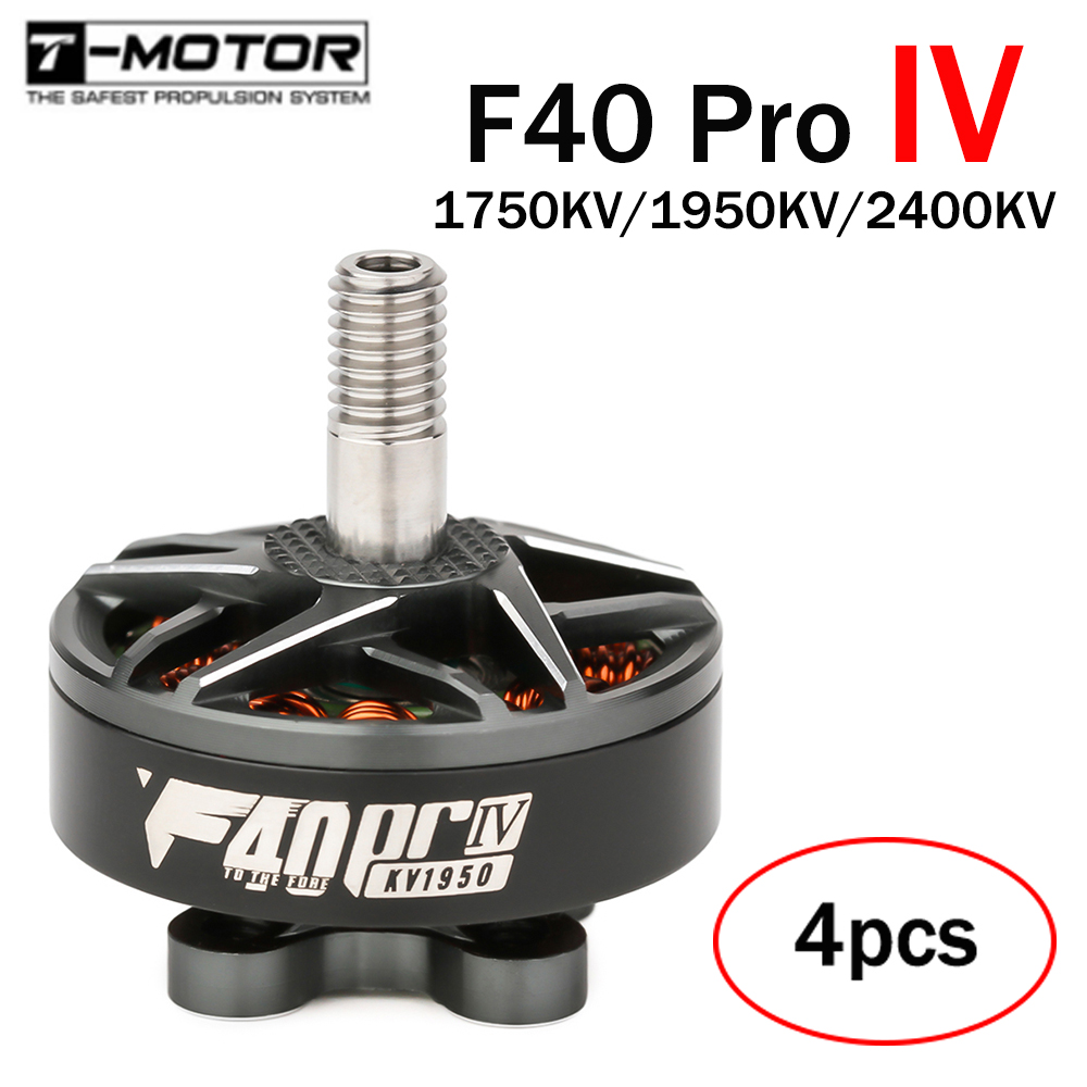 New arrival T-motor Tmotor F40 PRO IV 2306 1950/2400/1750kv Brushless Electrical Motor For FPV Racing Drone FPV Freestyle Frame