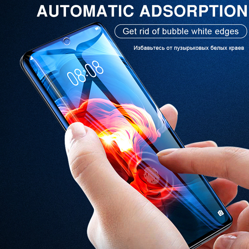 3Pcs Protective Hydrogel Film For Huawei P40 Lite P20 P30 Pro Mate 20 Lite P smart 2019 Nova 5T Screen Protector Film Not Glass 6