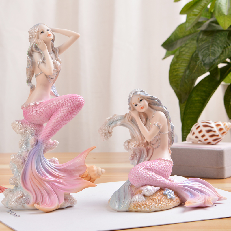 Mermaid Princess Home Decoration