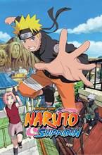 Naruto Anime Manga plakat na ścianę, 50x70 cm, bez ramki
