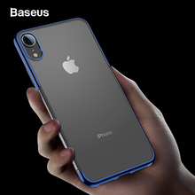 Baseus Case For iPhone XR Xs Case Cover Luxury Soft TPU Phone Case For iPhone XS XR XS Max Coque Funda Back Cover Transparent baseus simple tpu soft case for iphone 7 transparent