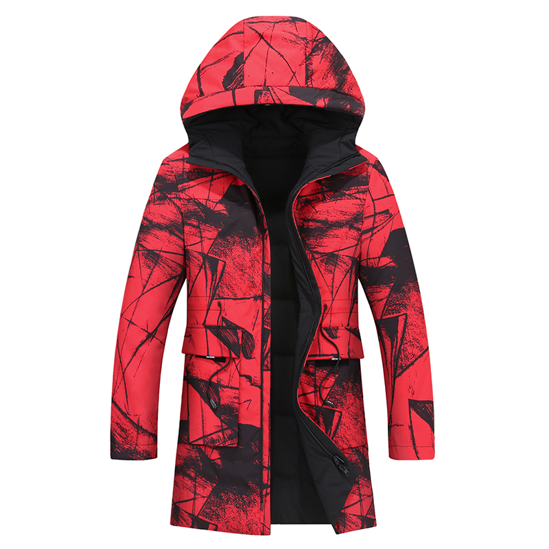 Plus 10XL 8XL 6XL Windproof Thick Winter Men's Down Jacket Brand Clothing Hooded Black Long Warm White Duck Down Jacket Male