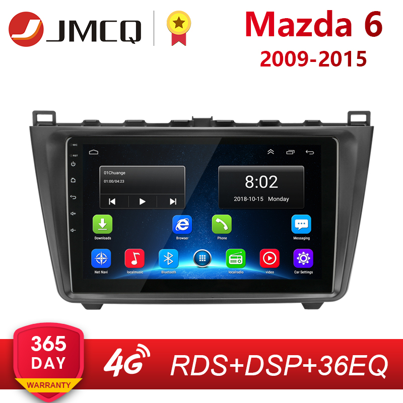 <font><b>Android</b></font> 8.1 2DIN 2G+32G Car Head Unit Radio Audio GPS <font><b>Multimedia</b></font> Player For <font><b>Mazda</b></font> <font><b>6</b></font> Rui wing 2009-2015 Navigation GPS 2 din dvd image