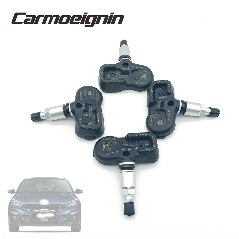 4 Piece Replace 52940J7000 PMV-CH15 TPMS Tire Pressure Sensor <font><b>52940</b></font>-<font><b>J7000</b></font> Fit For Kia K3 Forte Ceed 2019 2020 image