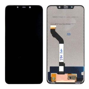 Image 3 - شاشة جديدة 2018 لشاومي بوكوفون F1 شاشة عرض LCD تعمل باللمس محول الأرقام الجمعية مع الإطار لشاشة شاومي بوكو F1 LCD