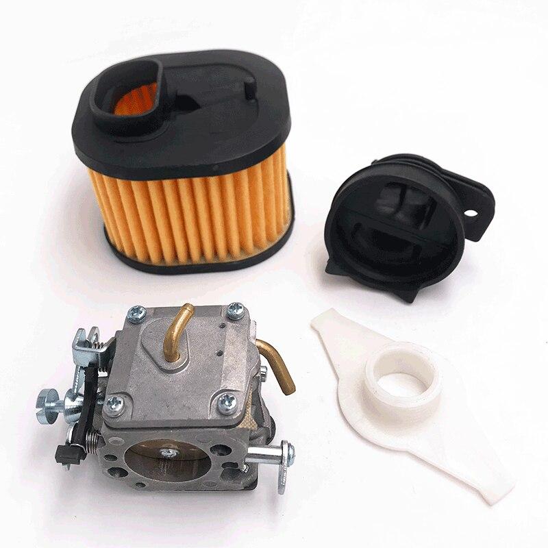 HUNDURE Manifold Air Filter New Carburetor RWJ-4B Kit For Husqvarna 365X TORQ 372 XP Chainsaw Spare Parts