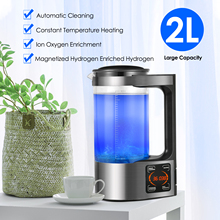 EU US Stock Hydrogen-rich Water Generator 2 Liters Large Capacity Digital Touch Control LED Display Water Filter 220V/110V