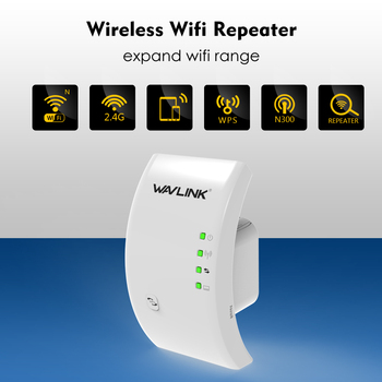 Wavlink Wireless Wifi Extender 300Mbps Repeater 802.11b/g/n 2.4G Network Antenna WPS wifi Signal Long Range Booster Repetidor
