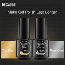 Coat Foundation Nail-Gel 7ml-Gel-Nail-Polish Rosalind-Base Lacquer UV for Manicure LED