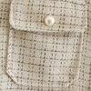 Women Blazer Za 2021 Office Lady Beige Plaid Print Singe Button Jacket Women Long Sleeve Casual Blazer Tops Mujer 6