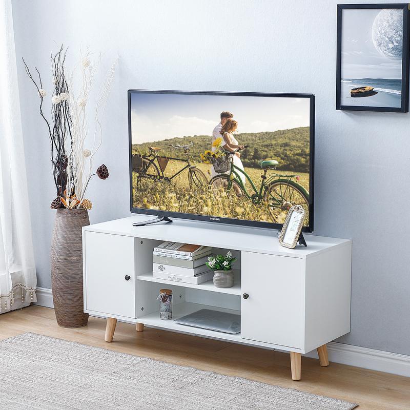 Modern Simple Style Double Door Cabinet Living Room TV Stands Room Lockers Home Furniture HWC