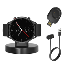 Dock Station Stand Charger Adapter USB Charging Cable Base Holder for Amazfit GTR2/GTR 2E/GTS 2/2e GTS2 Mini/Bip U/Pro/Zepp E
