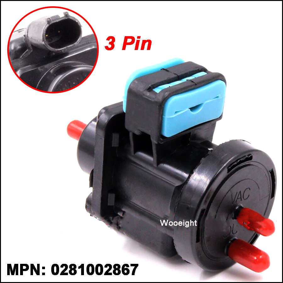 Wooeight Vacuum Converter Turbo Boost Valve Pressure Regulator <font><b>0005450527</b></font> Fit for Mercedes-Benz Car Inner Accessories image