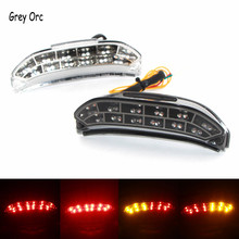 For HONDA CBR 600RR 2013 2014 2015 Motorcycle LED Rear Turn Signal Tail Stop Light Lamps Integrated