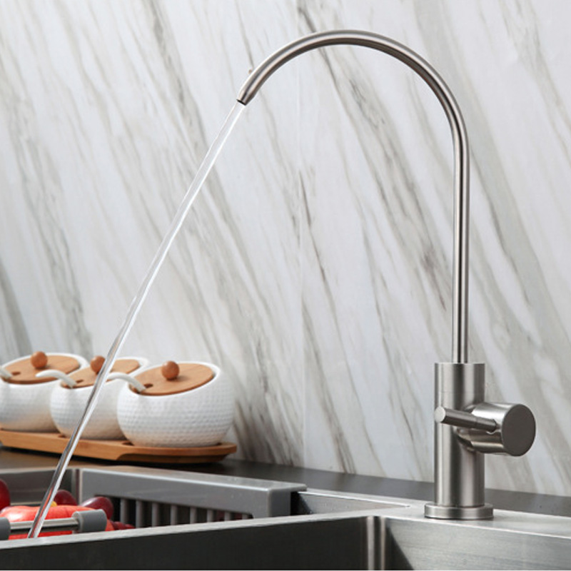 Kitchen Direct Drinking Water Filter Tap 304 Stainless Steel Ro Faucet Purify System Reverse Osmosis Robinet Cuisine Torneira