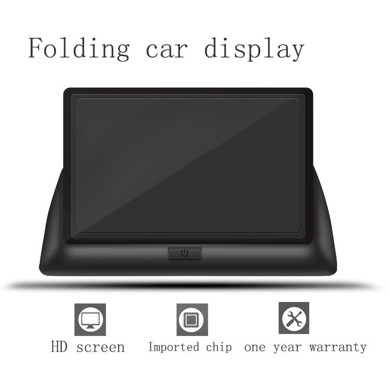 Wireless Car Monitor 4.3 TFT LCD Rear View Camer IR Universal Mirror Parking Assistance for ChevroletCruzeEpicaAveoMalibu  (11)