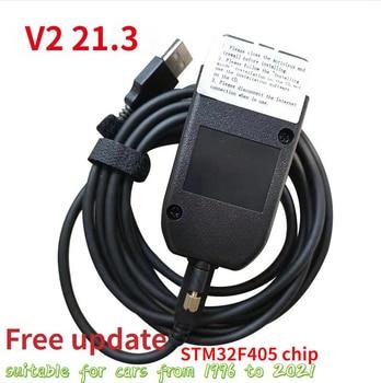 2021 Popolar Wesheu Vcds V2 20.12 HEX Interface Electric Testers VA COM 20.12 FOR VW for AUDI Skoda Seat ATMEGA162+16V8+FT232RQ