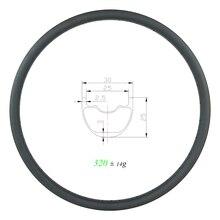 320g 29er MTB XC SL 30mm tubeless karbon jant 25mm derin 24 28 32 delik 29in kattığı kancasız tekerlek 24H 28H 32 H UD mat parlak