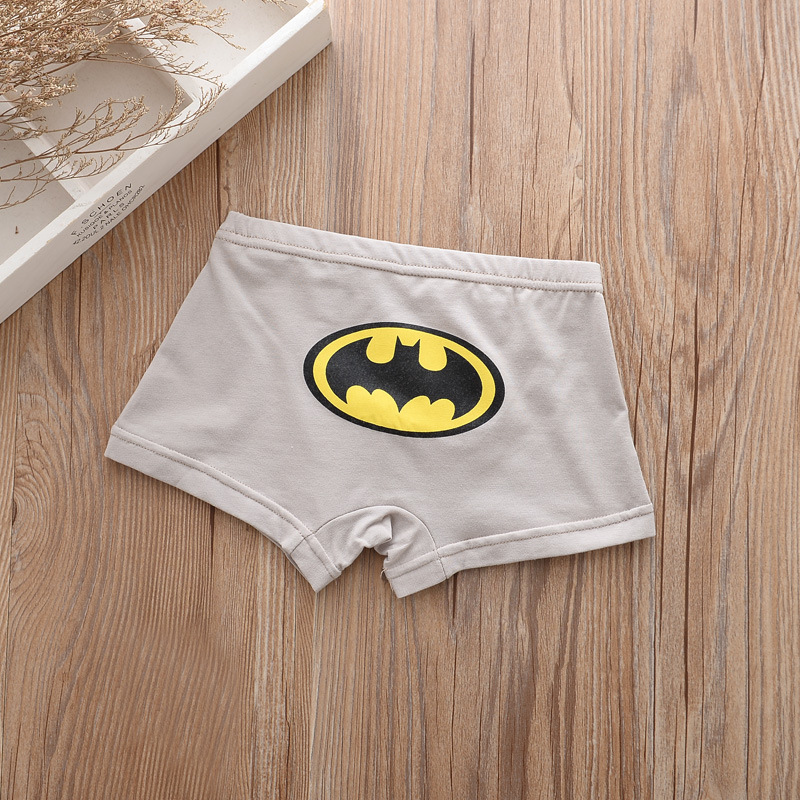 5pcs/lot Kids Boys Underwear Cartoon Children's Shorts Panties for Baby Boy Boxers Panty Teenager Underpants 2-14T BU013 4