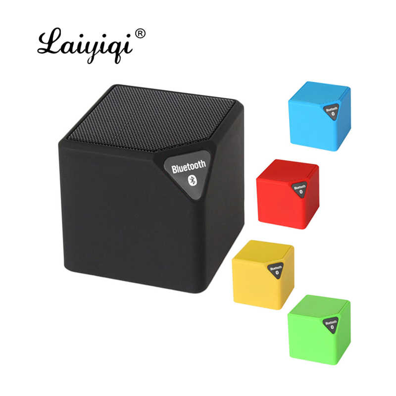 Laiyiqi nieuwste populaire bt mini Bluetooth draagbare luidsprekers subwoofer Mic enceinte bluetooth draagbare aux tf puissant ch4 fan