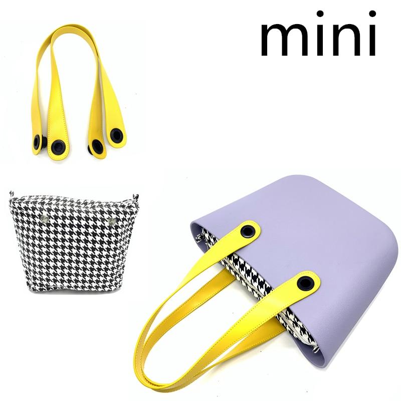 Mini Inner Canvas Bag For Obag Mini Size Tote Purse
